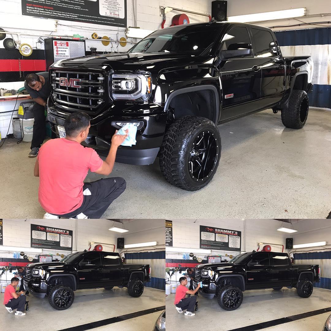 monstertruck finedetails windshildreplacment platinum pkg polish buffing autodetailing autotinting showreadyhellip