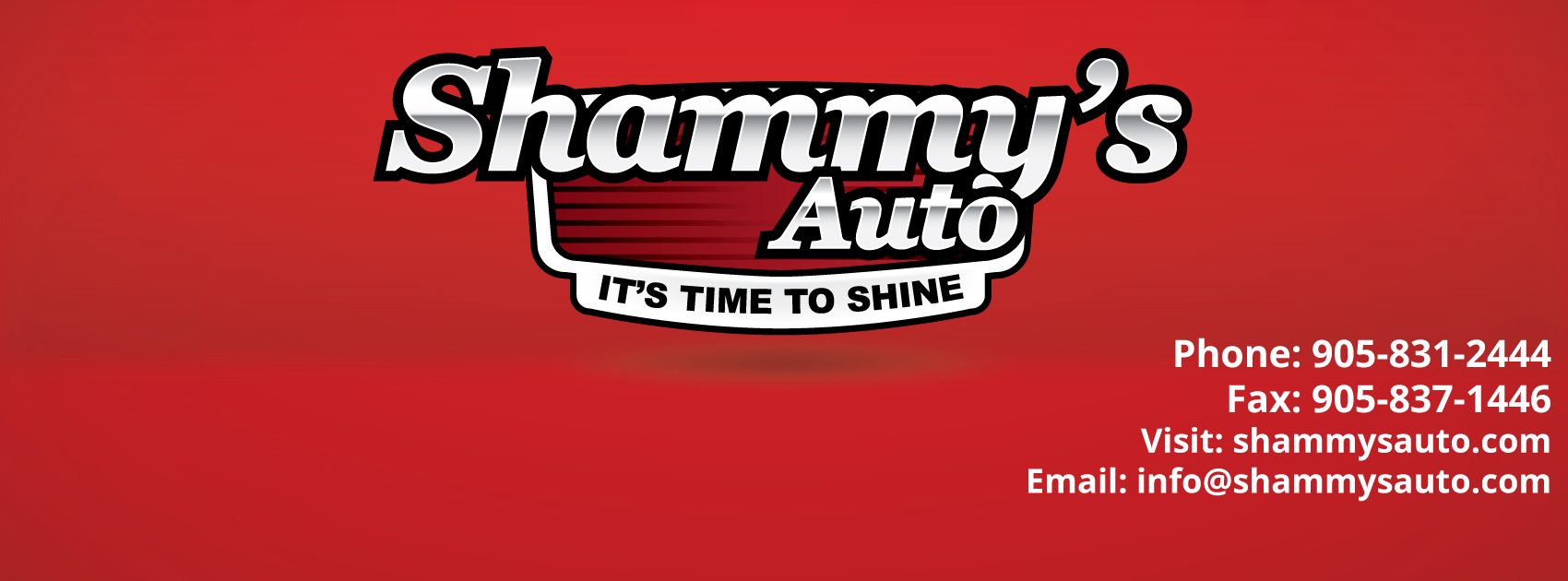Shammys Auto Logo Shammy S Auto Detailing