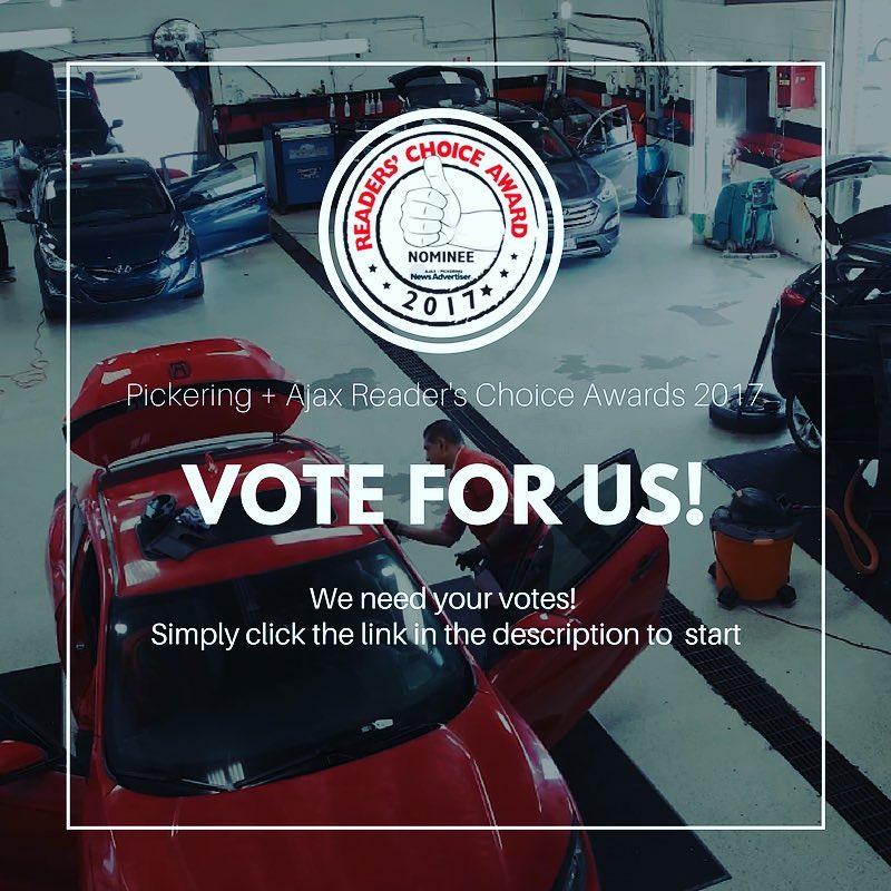 shammysauto we need your vote thanks