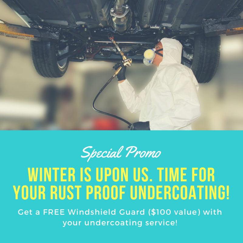 Rust Proofing Promo
