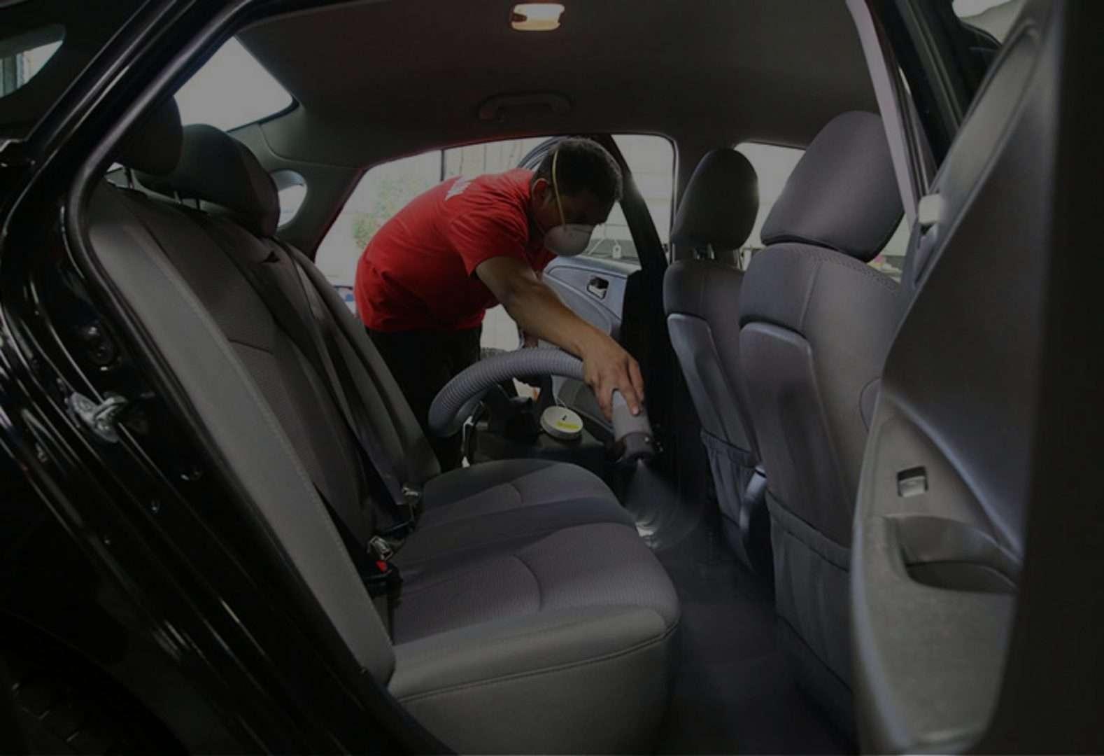 vehicle antibacterial treatment